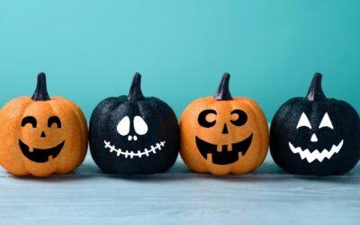 Halloween ruukut