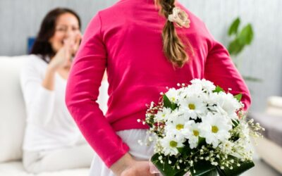 Hemmottele äitiä kukkasilla