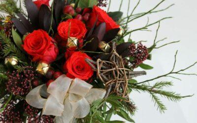 Joulutontun kukkaterveiset