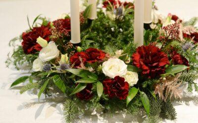Adventin joulukranssi