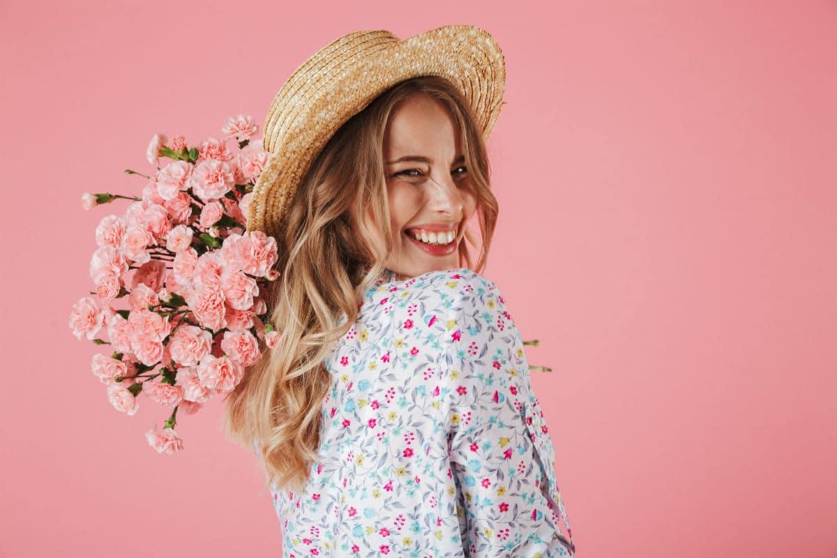 Vinkkejä kukkien valintaan naiselle