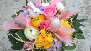 Pääsiäiskimppu - tilaa kukat netistä suoraan kotiovelle