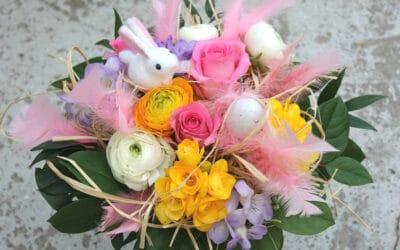 Pääsiäiskimppu – tilaa kukat netistä suoraan kotiovelle