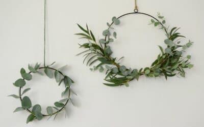 Tee eukalyptuskranssi kahdella eri tavalla – katso vinkit ja kokeile!